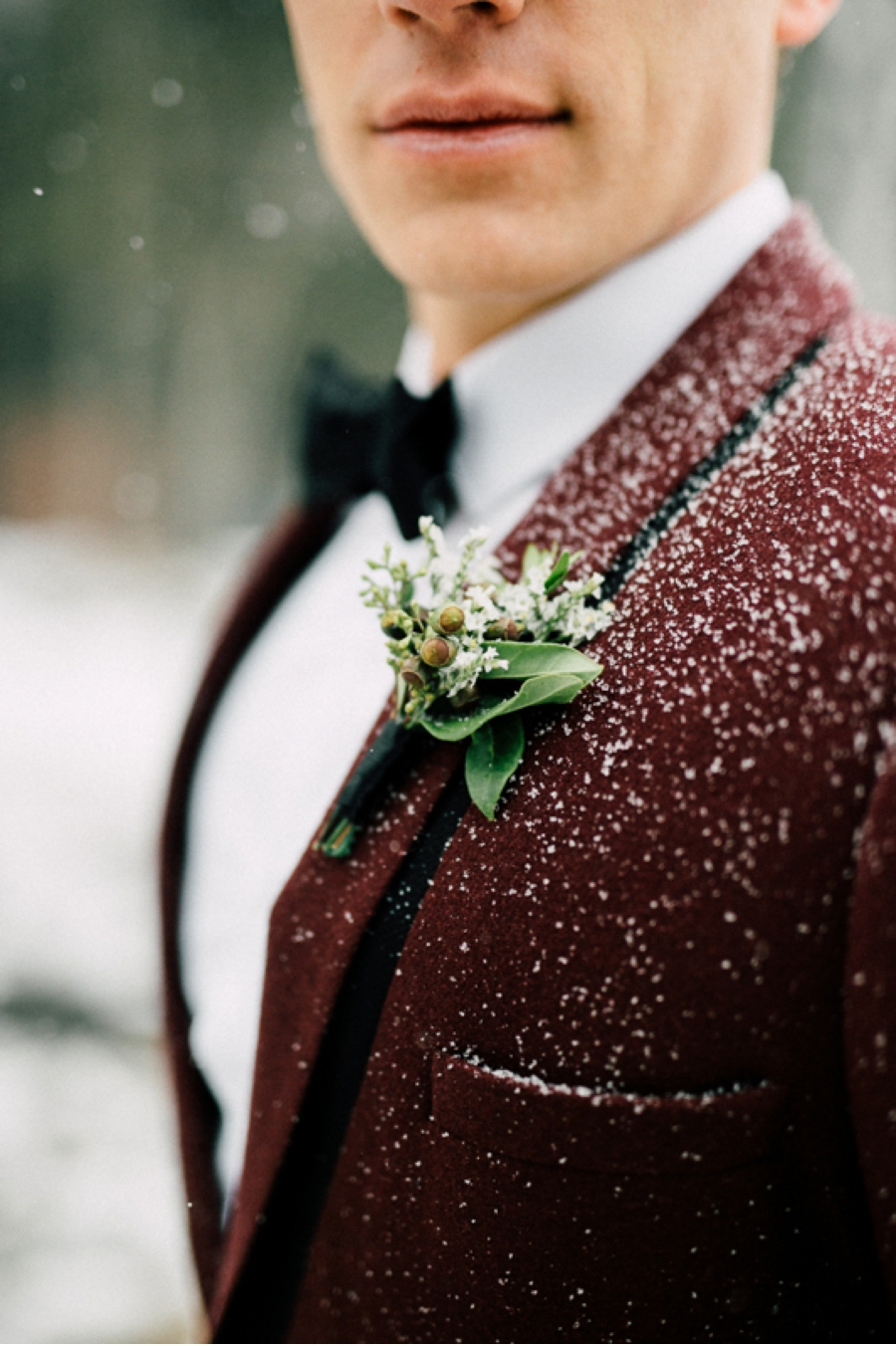 Dark-Red-Groom's-Suit