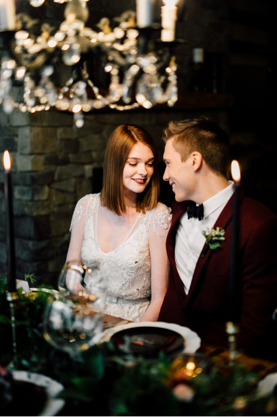 Winter-Cottage-Wedding-Reception