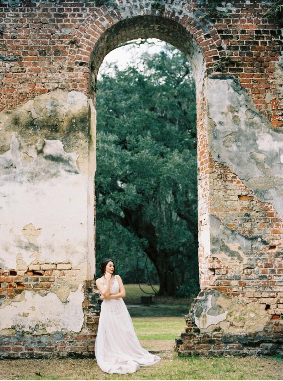 Bride-Under-Archway