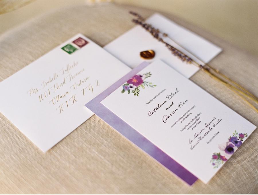 Lavender-Wedding-Stationery