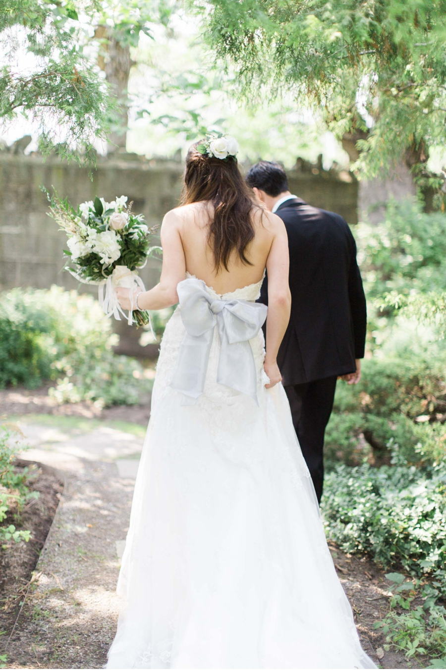 Brides-Gown-with-Blue-Bow