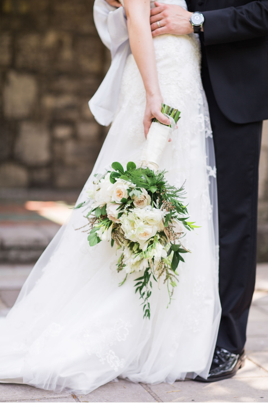White-and-Green-Wedding-Bouquet