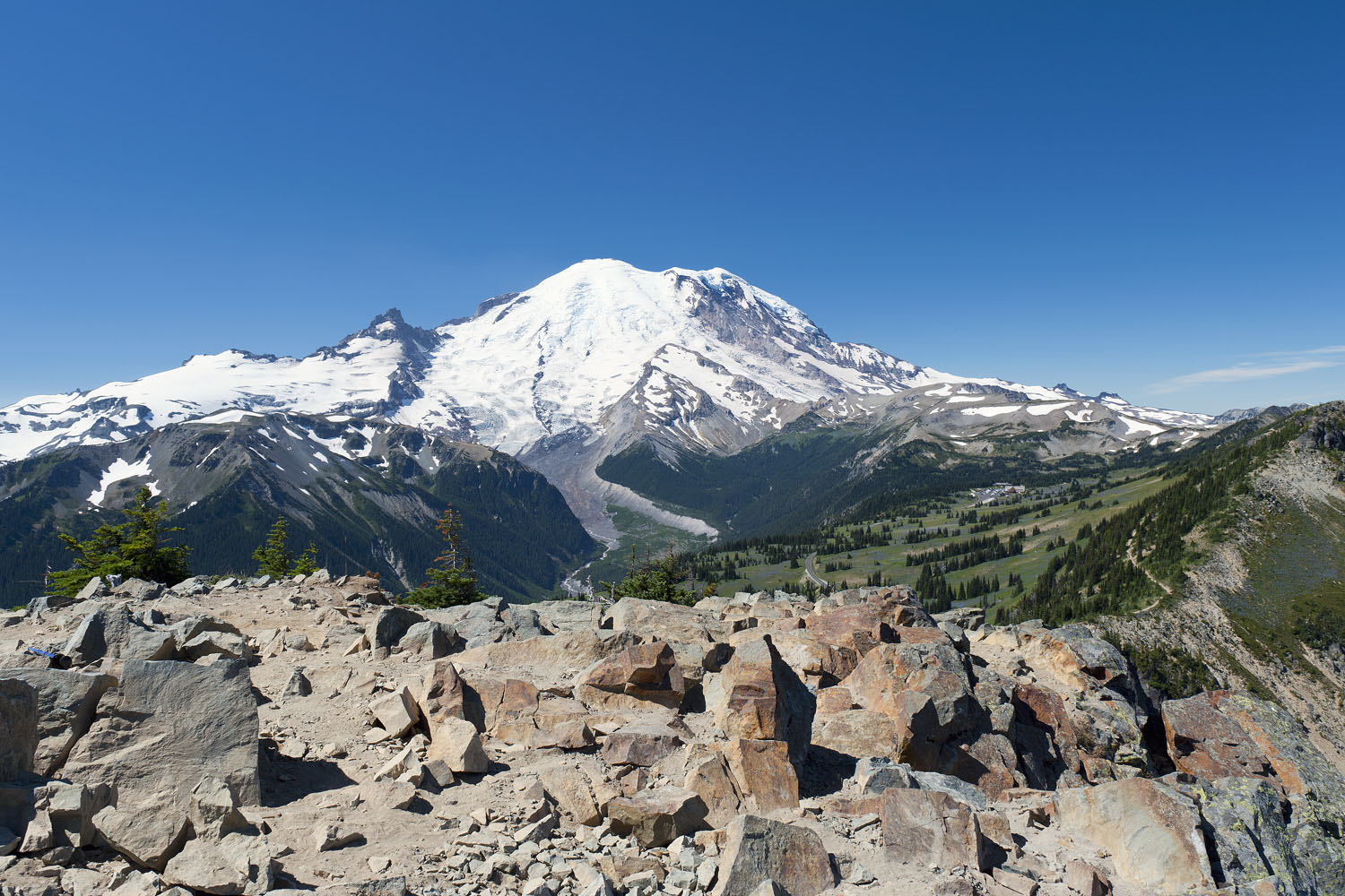 Mt. Rainier From Dege Peak