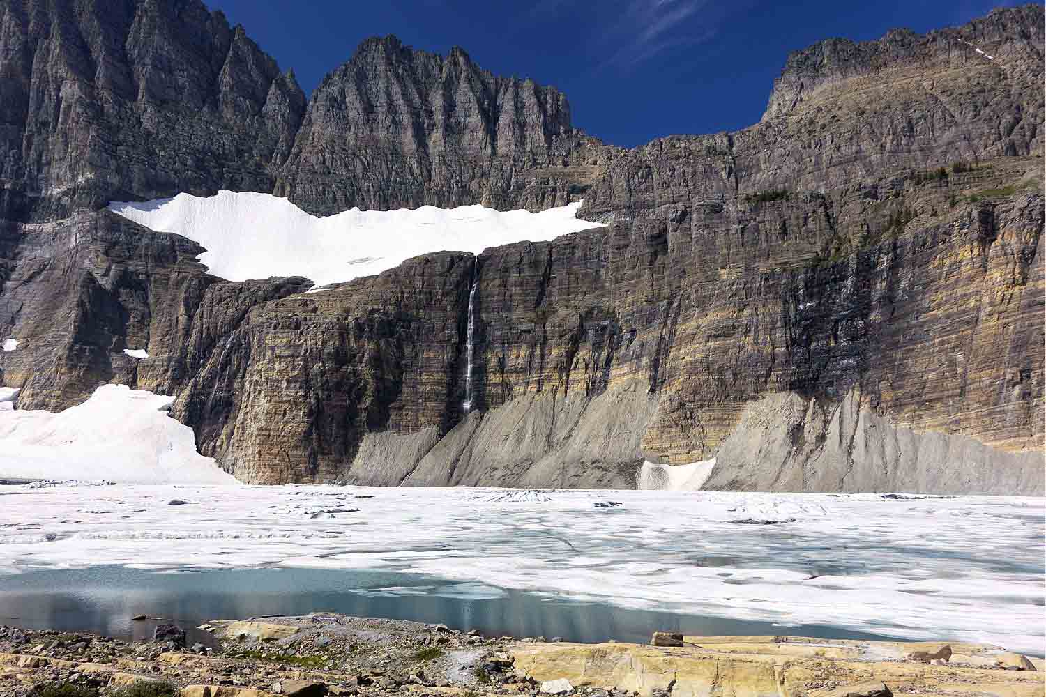 Grinnell Glacier and Lake