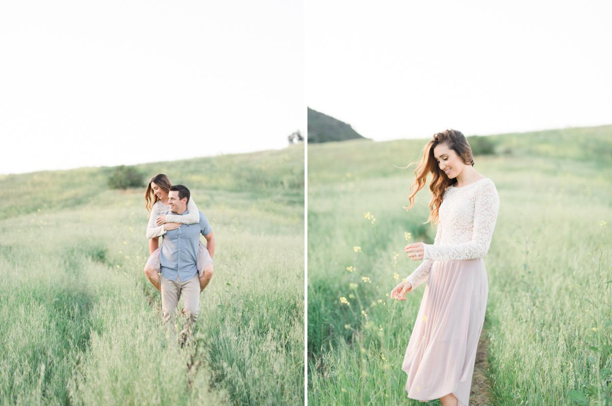 Engagement photos - Malibu Creek State Park