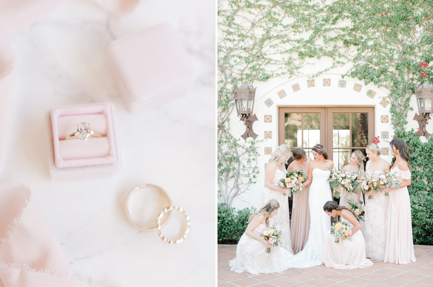 hummingbird nest ranch wedding - film photographer los angeles