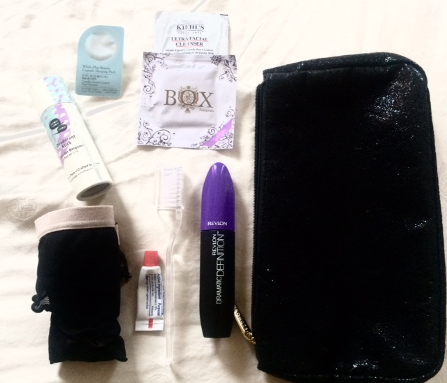 What is in my 24 hour bag!