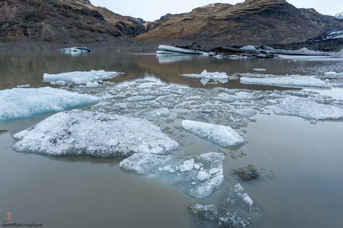 ice on the bay | Eis in der Bucht