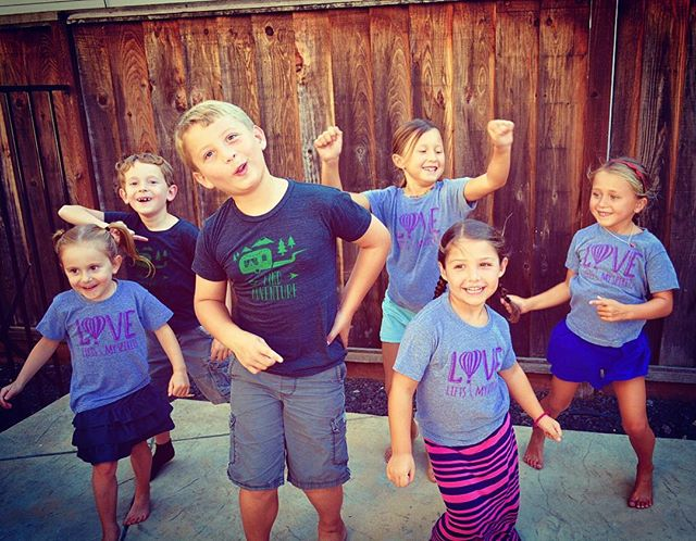 Dance like no one is watching ✨🎶✨ These divine little souls don't need a reason to dance, laugh, love & find adventure every day❣ #yourdivine#yourdivineapparel#kids#tees#love#adventure