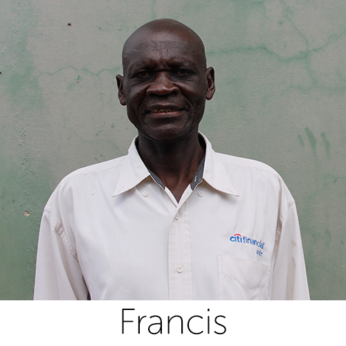 Husband, Father, Grandfather, 62 years old House of Moses Orphanage Class