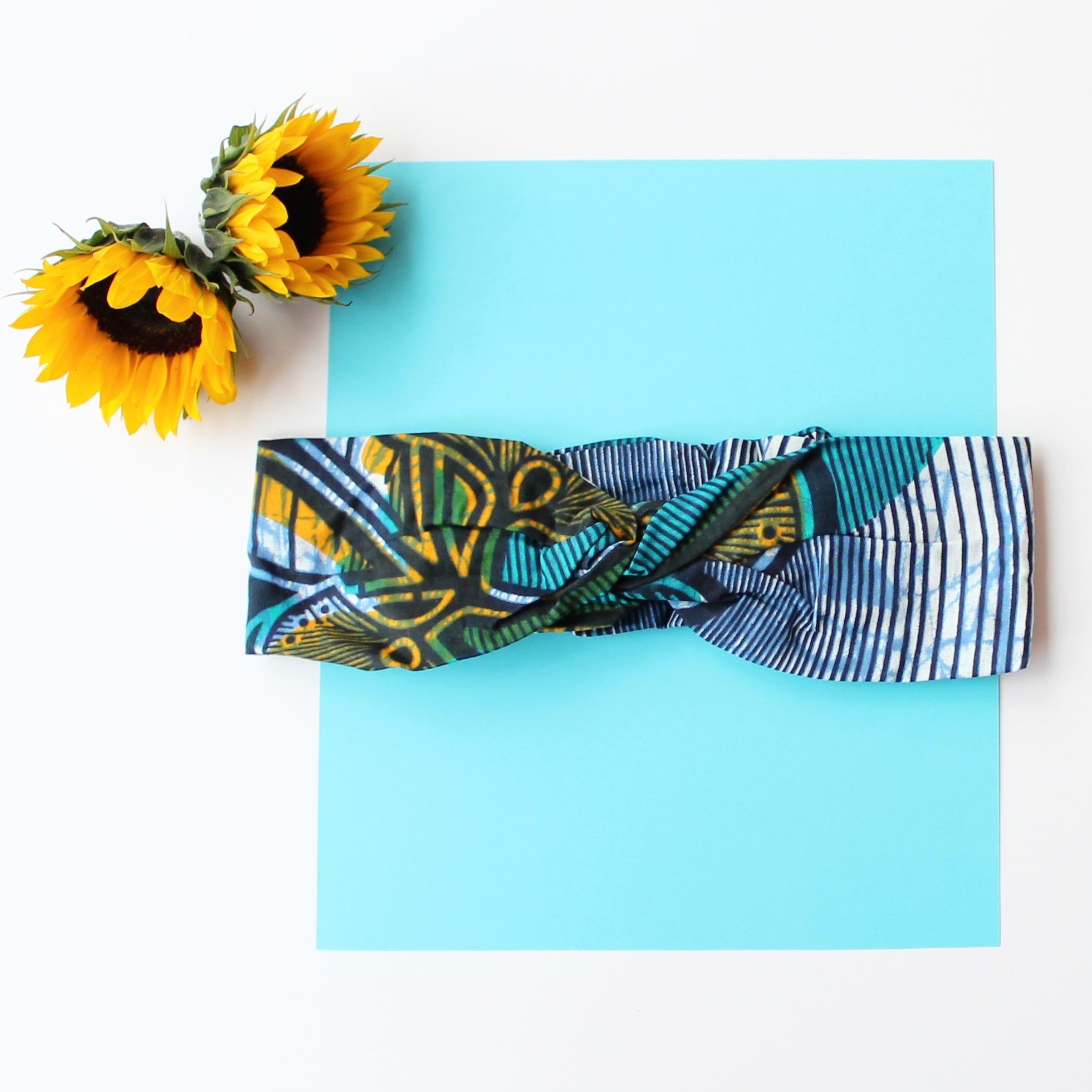 Turban Headband in Tie Dye
