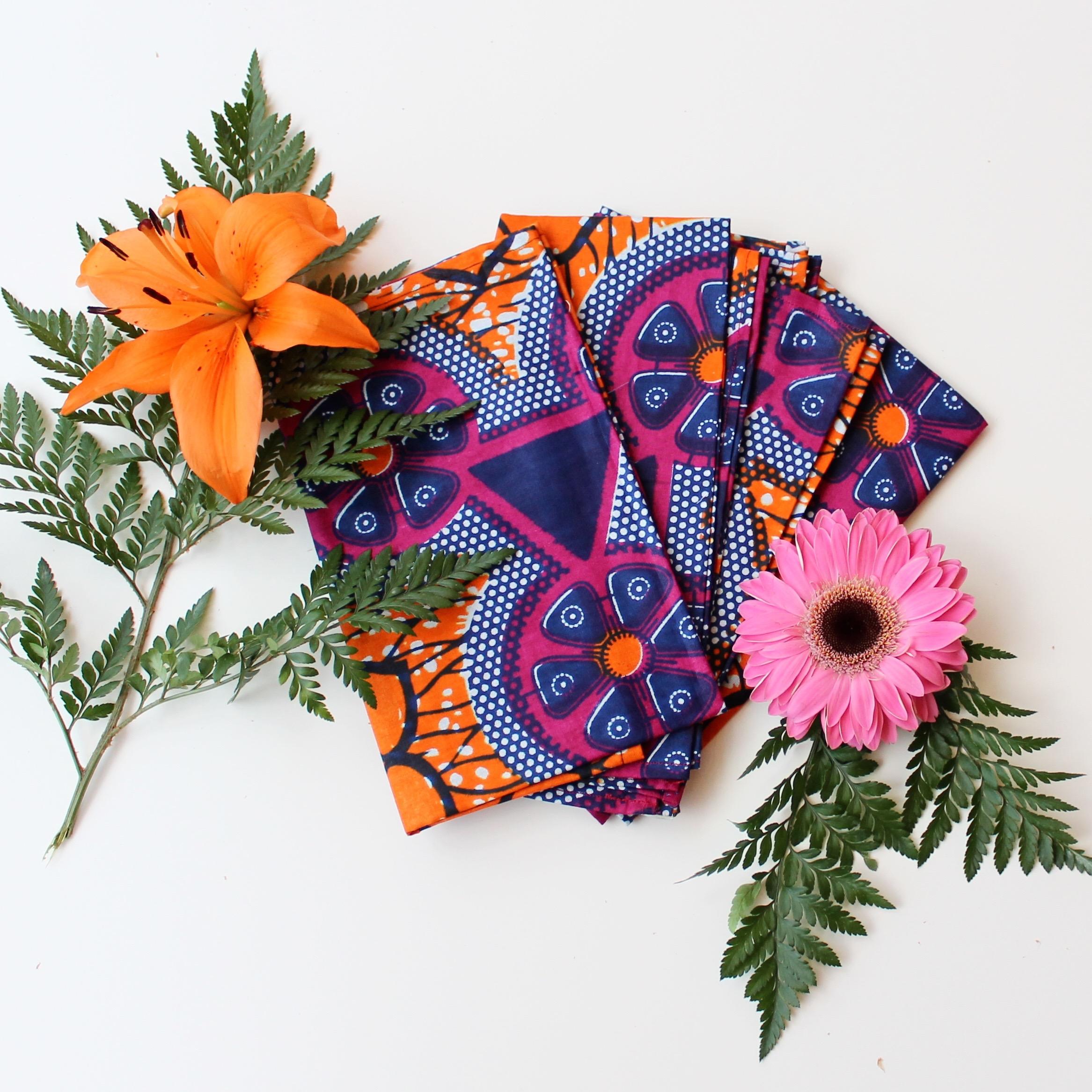 Martha Napkins in Flower Power