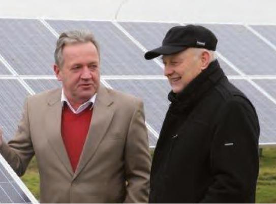 Johann Ortgies und Johann Dirks (Geschäftsführer)