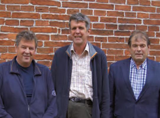 Georg Janssen, Hero Janßen, Siebelt Ulfers (Geschäftsführer)