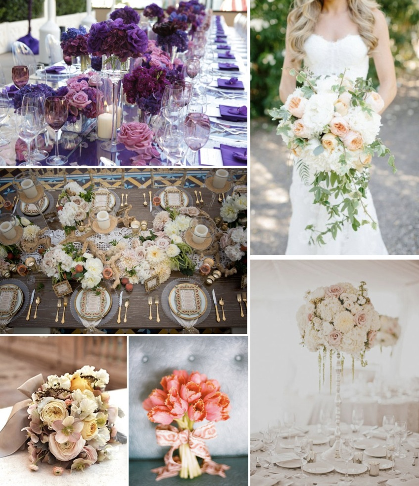 2014 Wedding Trends - Floral Design