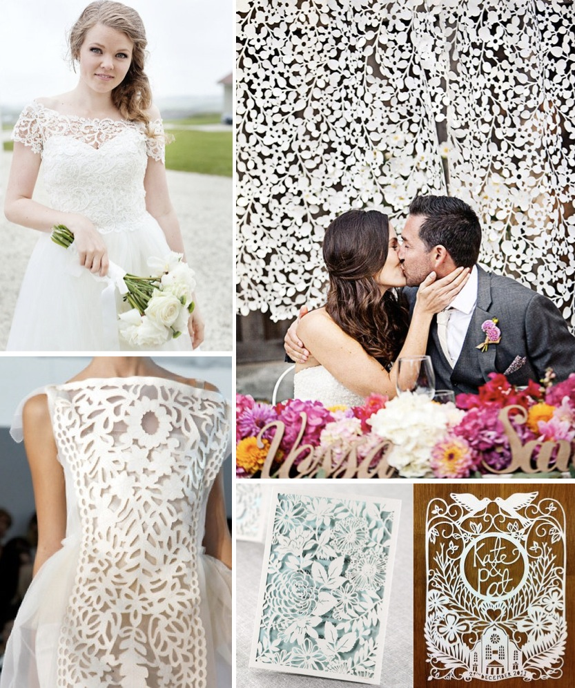 2014 Wedding Trends - Laser Cut Details