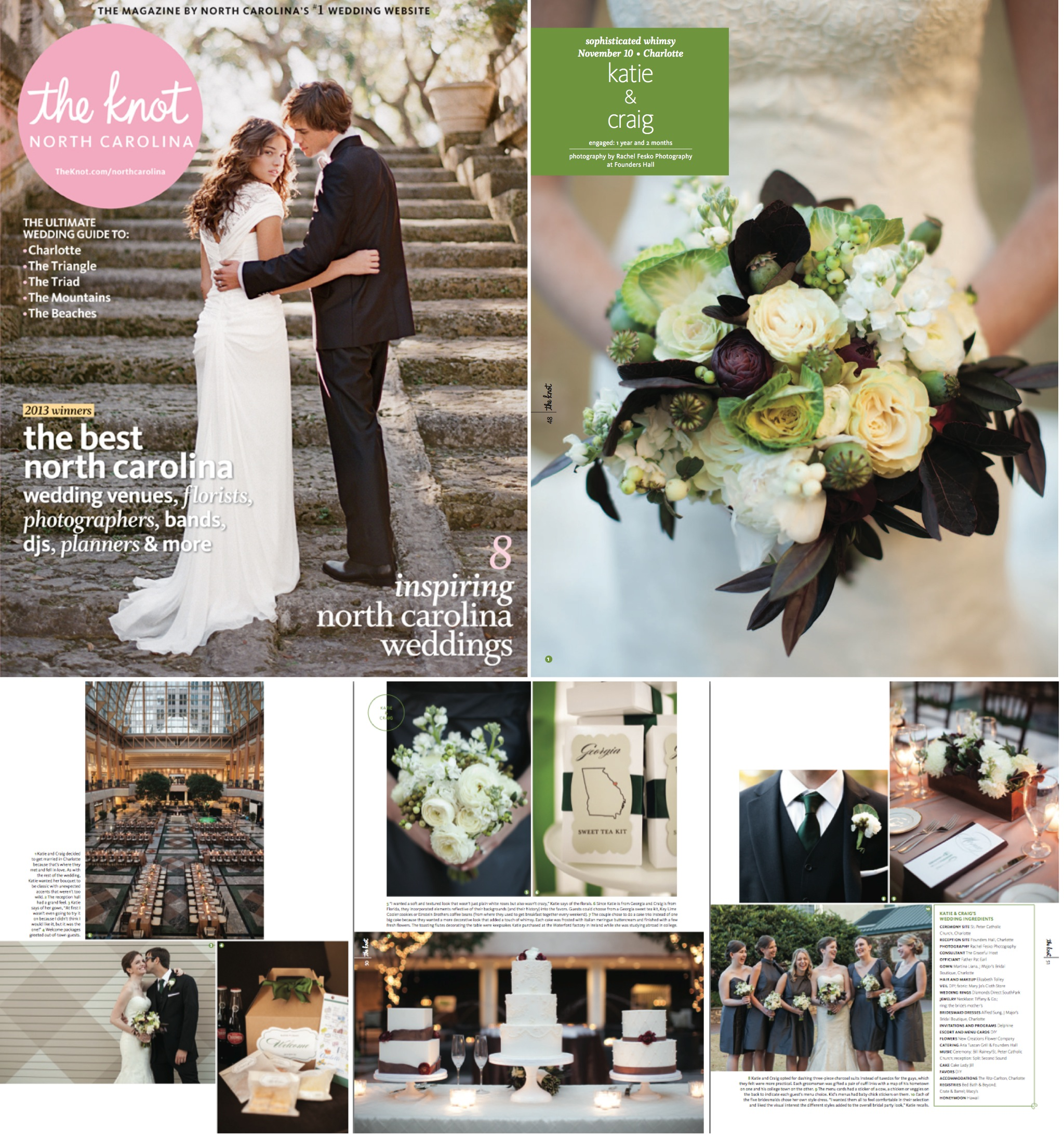 2013 The Knot Magazine Feature