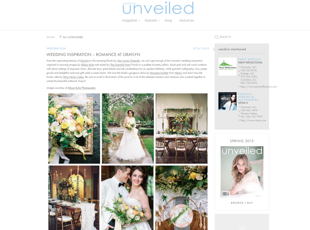 Romantic Graylyn Estate Wedding Inspiration by The Graceful Host.png