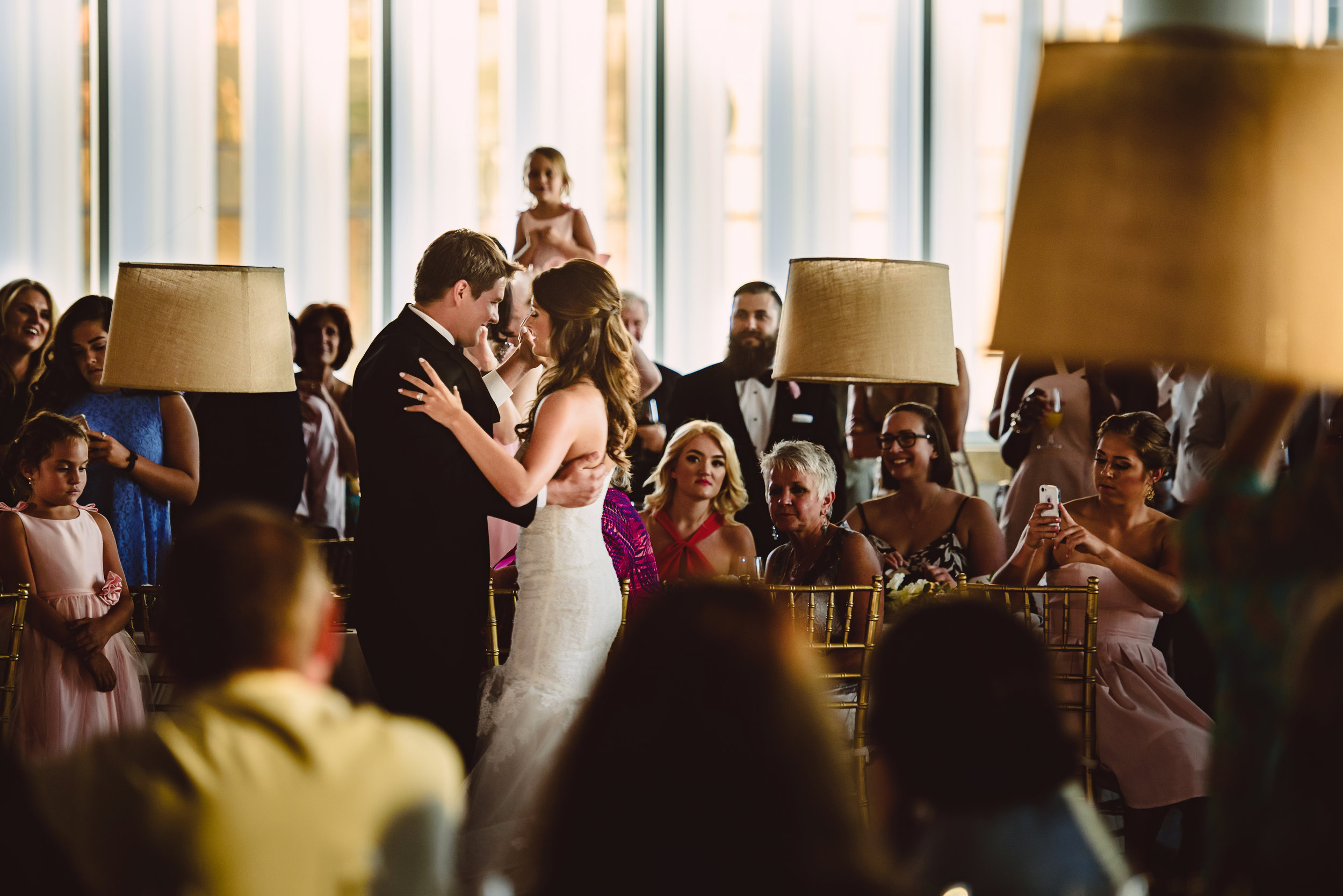 Mint Museum Uptown wedding in Charlotte, North Carolina by The Graceful Host, First dance