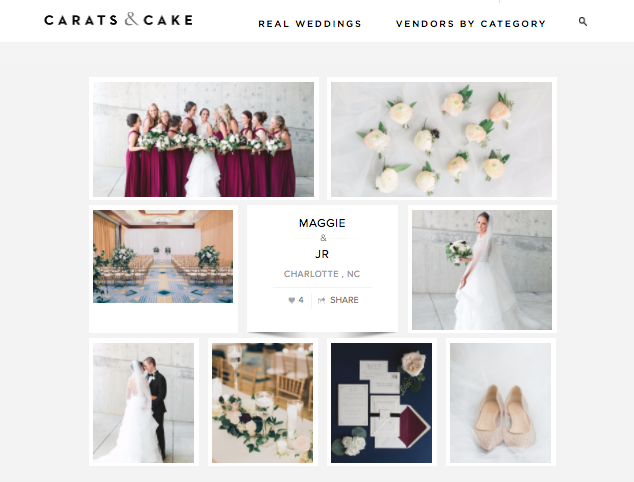 The Graceful Host - Ritz Carlton Charlotte Wedding - Carats and Cake Feature.png
