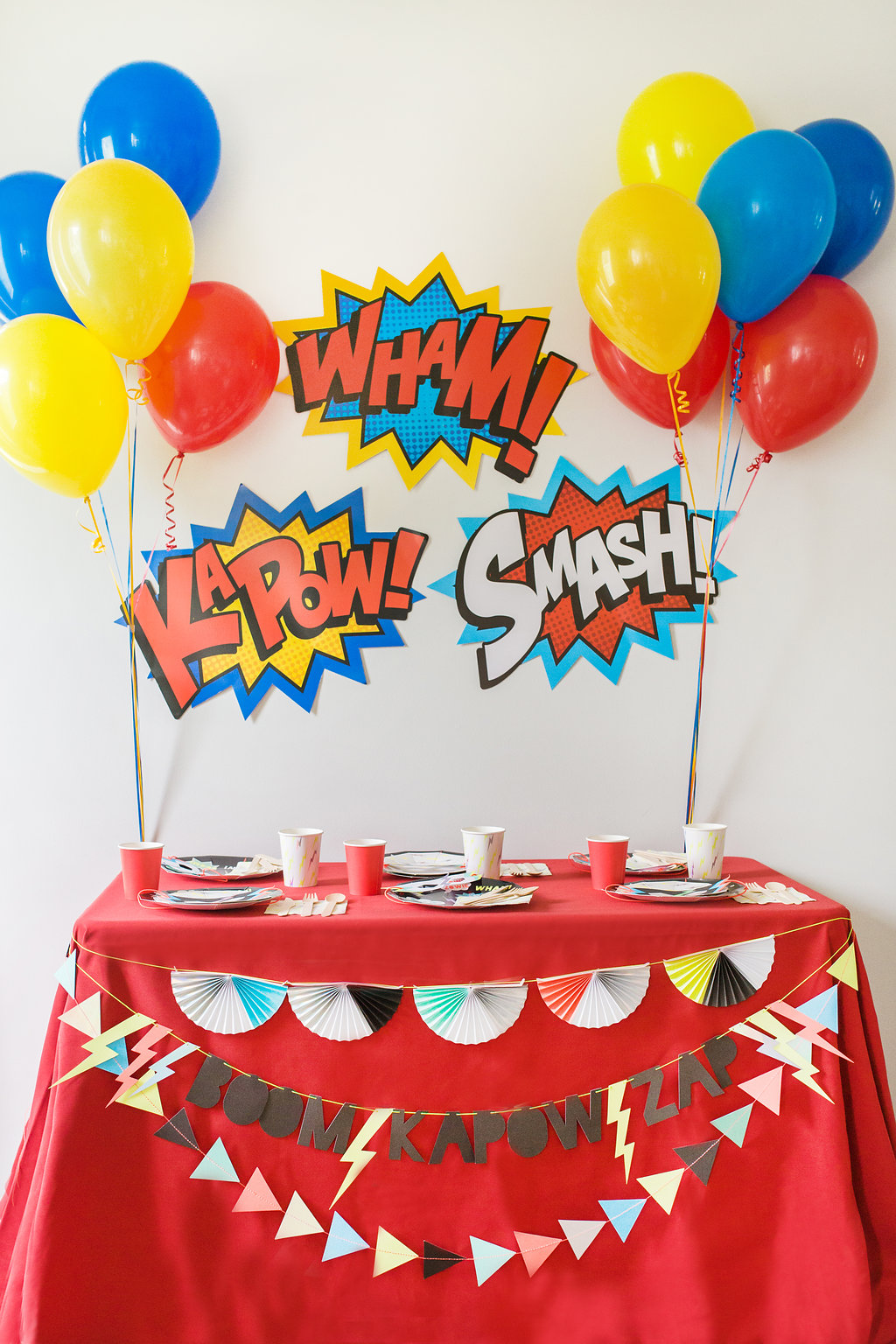 Party Kits, The Graceful Host Party Kit, Superhero party, Kids birthday party