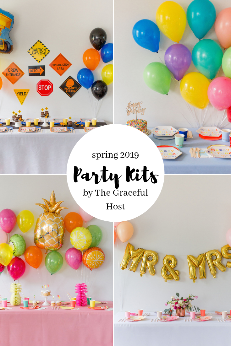 The Graceful Host Party Kits