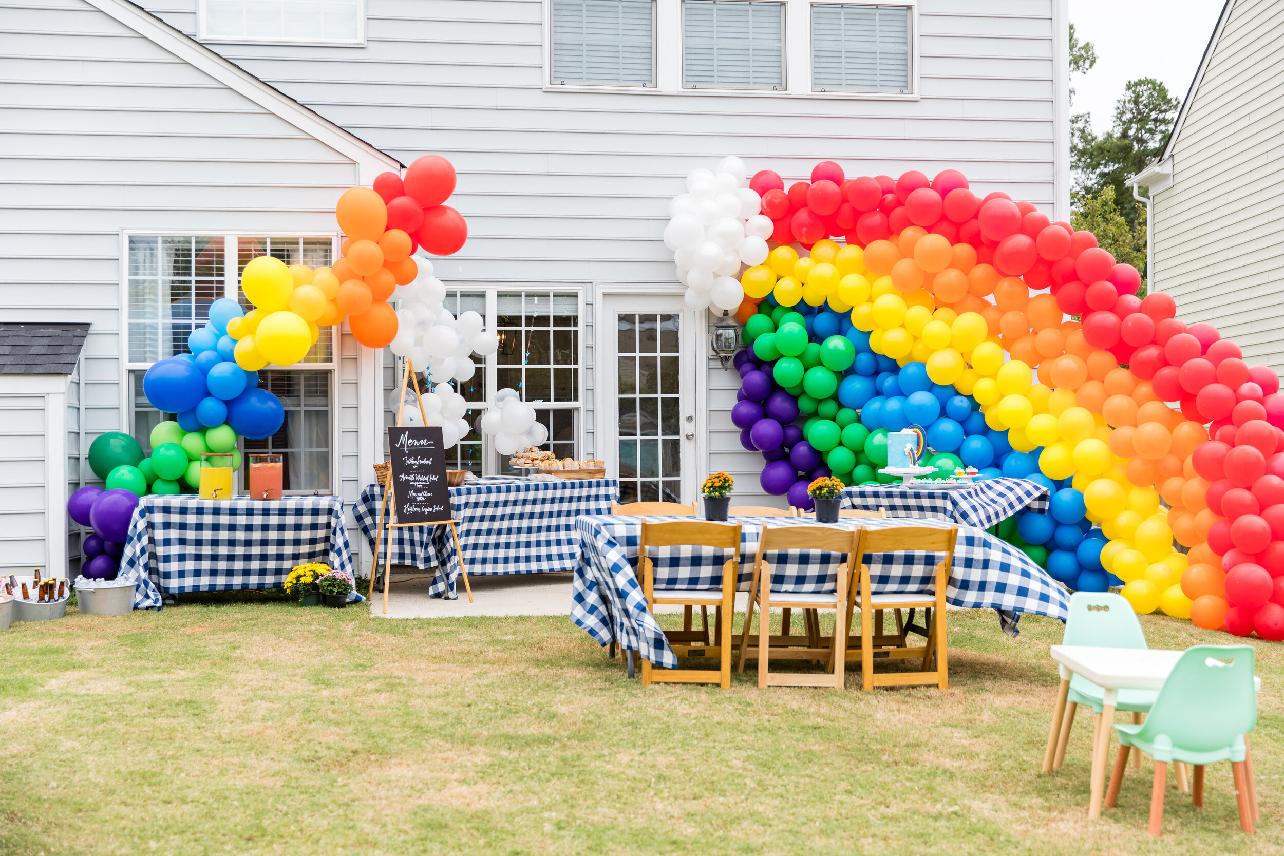 Somewhere Over The Rainbow First Birthday Party | New Orleans, Louisiana |  Wedding Planning & Design | The Graceful Host