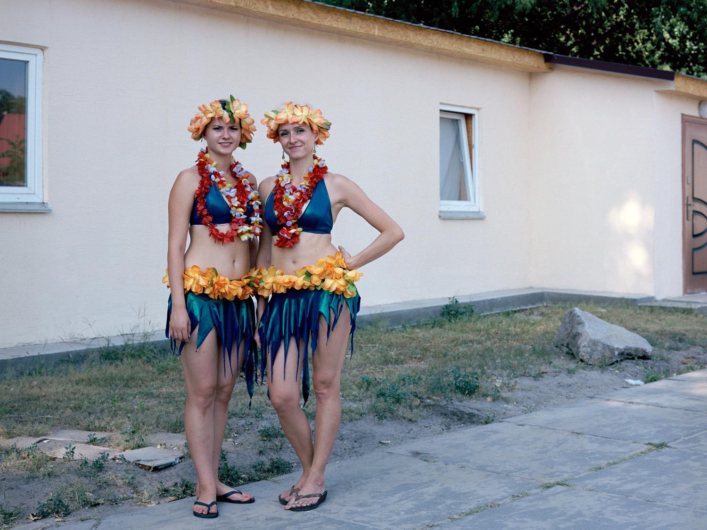 Bogdana and Sasha