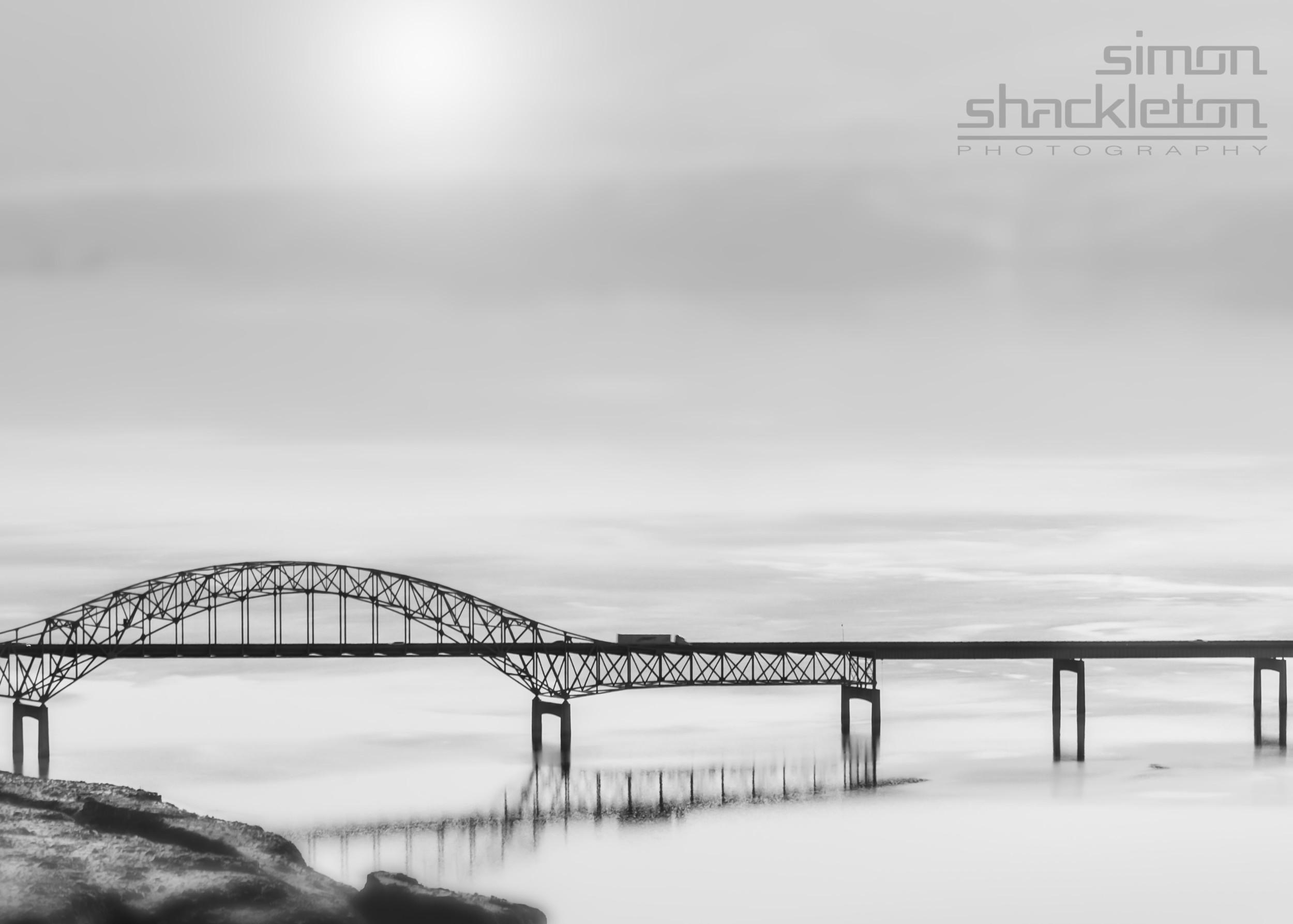 On the bridge ...