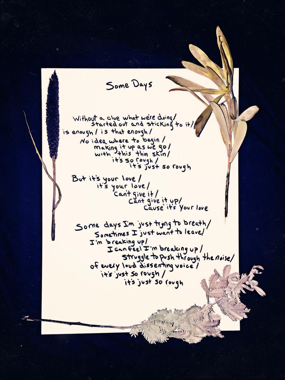 Some Days <3