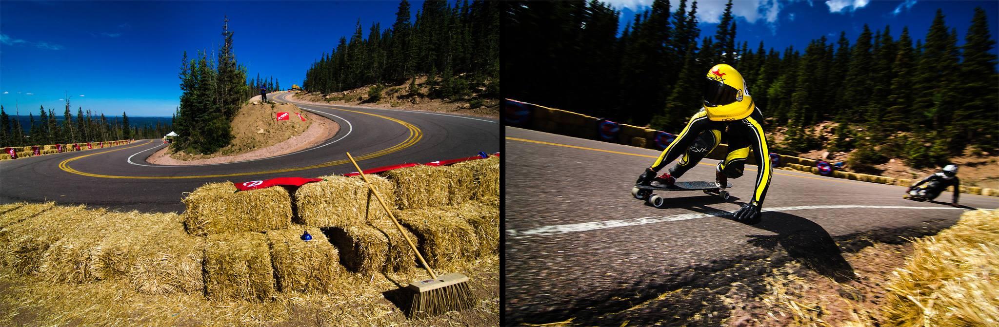 Pikes Peak Downhill Track