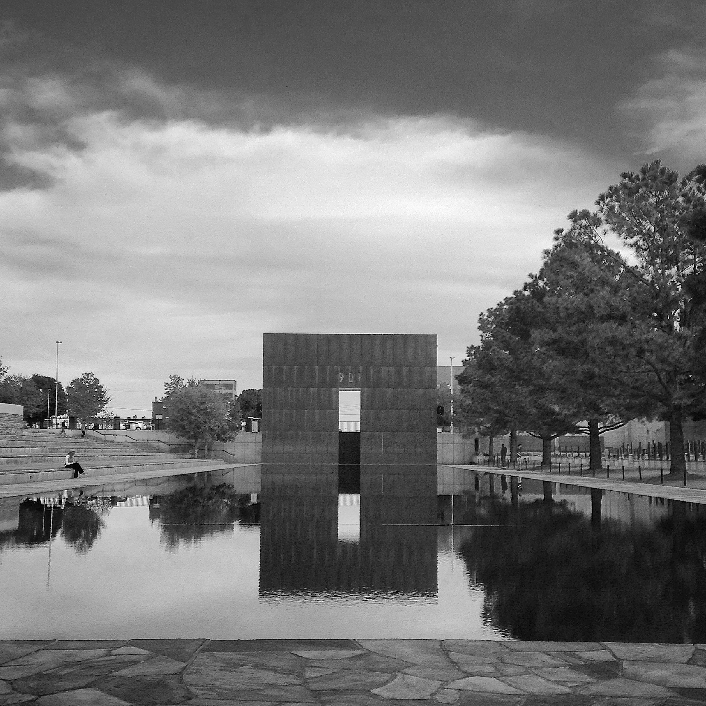 The Oklahoma City National Memorial. Photograph by Andrei Strizek.