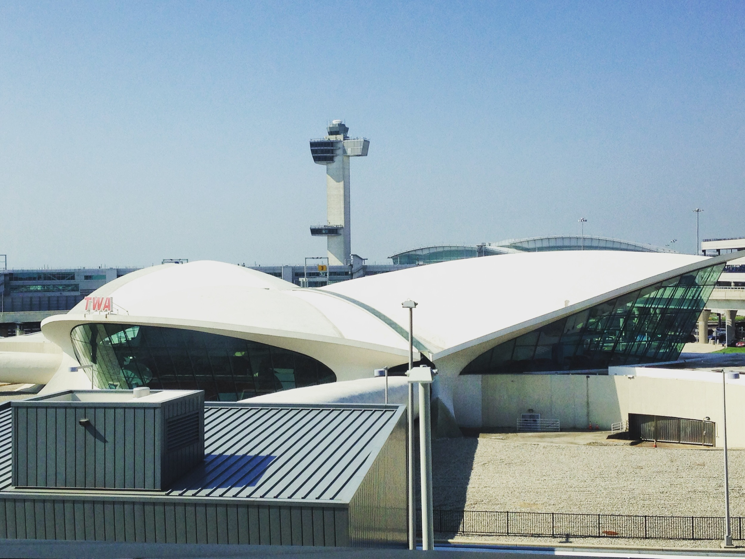 Space Age TWA building at JFK Airport