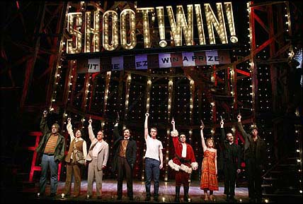 The 2004 Broadway revival cast of  Assassin  s . (via Playbill.com)