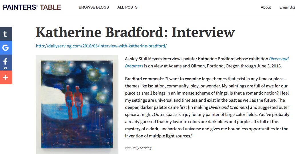 Quoted on Bradford