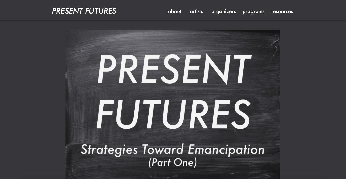 Present Futures Reading List