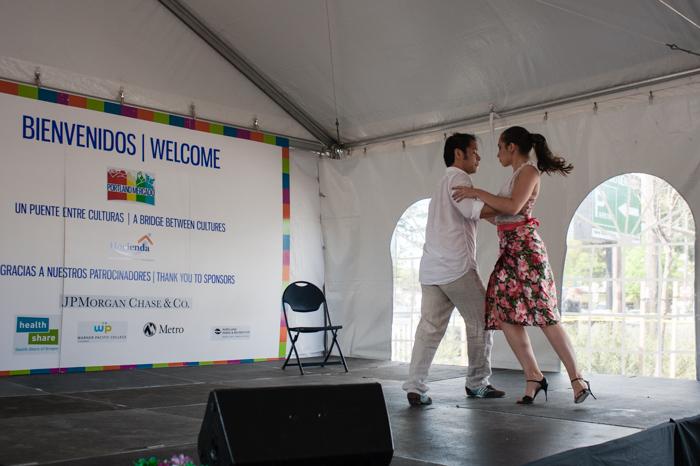 Tango Papuso dance duo