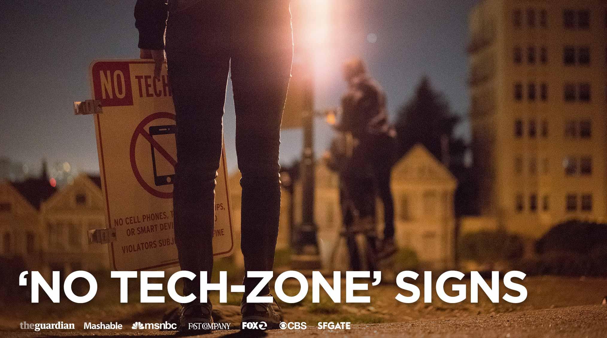 'No Tech-Zone' Signs