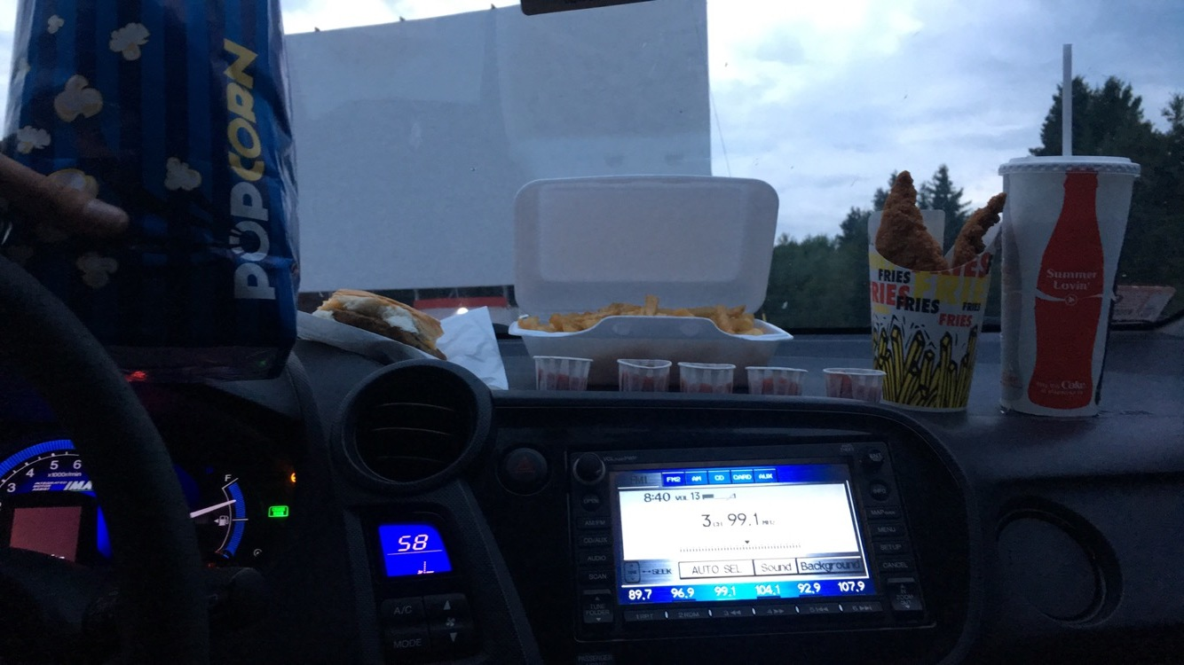 Dinner and a movie!