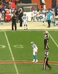 Gano stands frustrated as Panthers punt