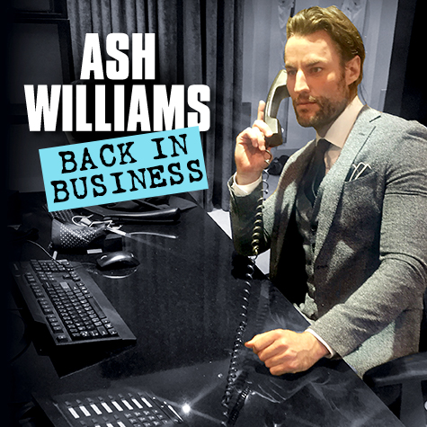"""Ash's brand new show """"Back In Business"""" will have it's first run at the Melbourne Comedy Festival April 11-22 at 8pm. Grab you tickets  here"""