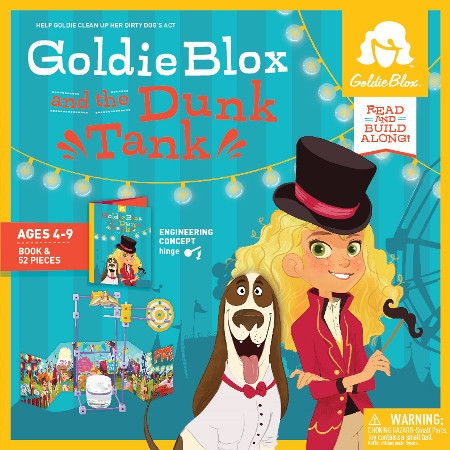Goldie Blox and the Dunk Tank by Aimee Thomas