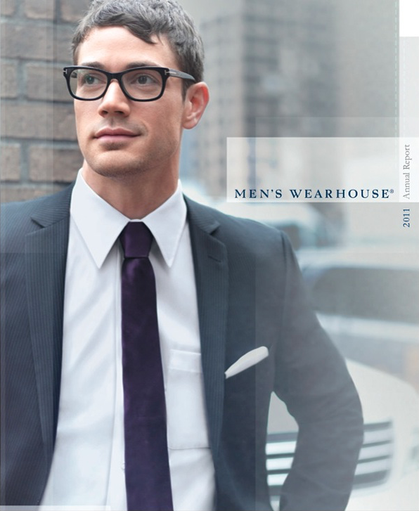 Men's Wearhouse Annual Report - Content strategy, concept and copywriting for print and web.