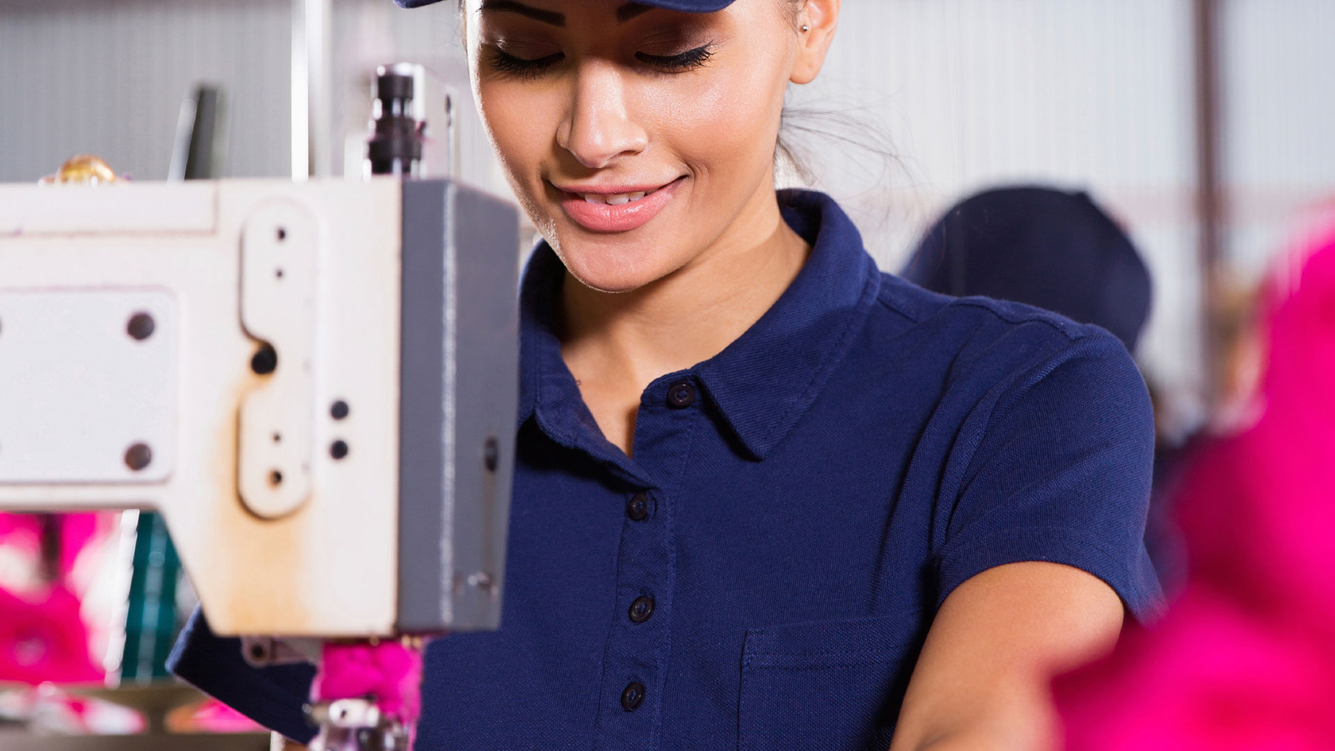 Domestic manufacturing = having the ability to sew almost any style!