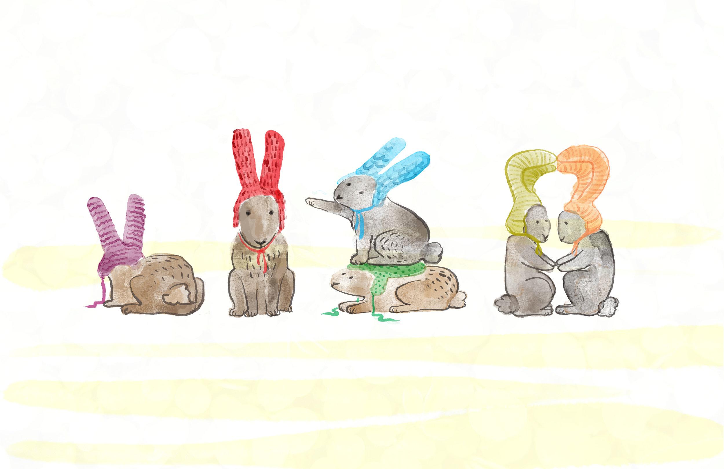 Rabbit Sweaters