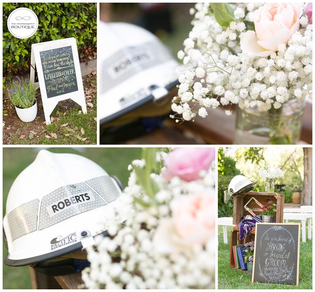 personalised wedding styling margaret river