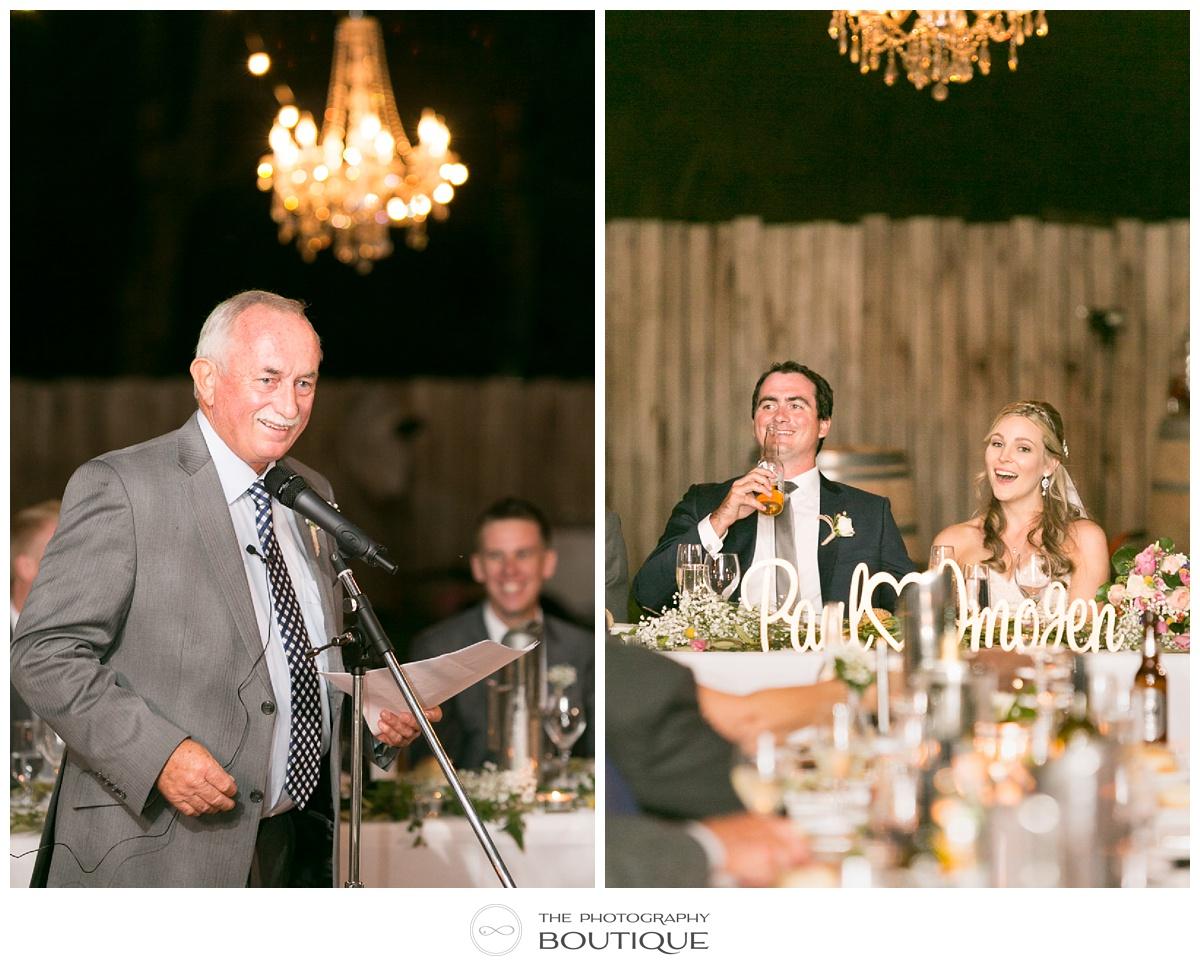 wedding speeches margaret river