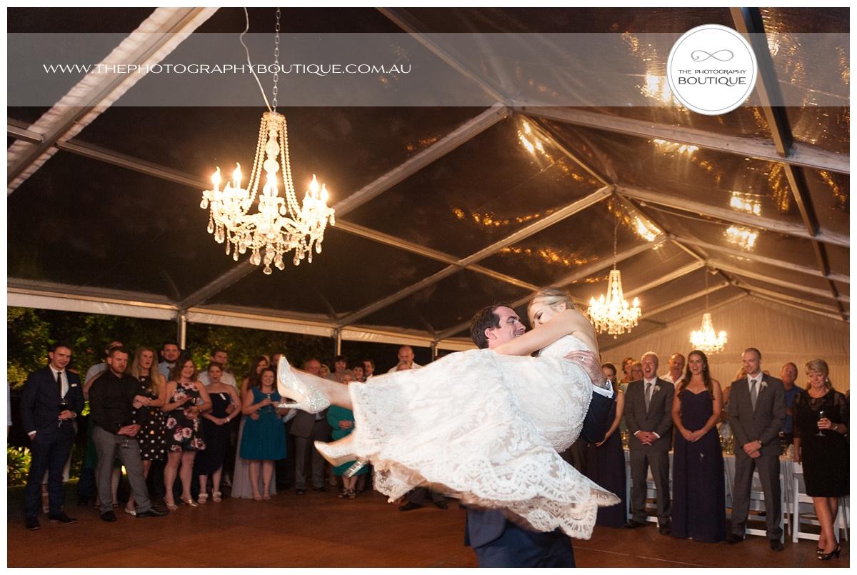wedding first dance twirl