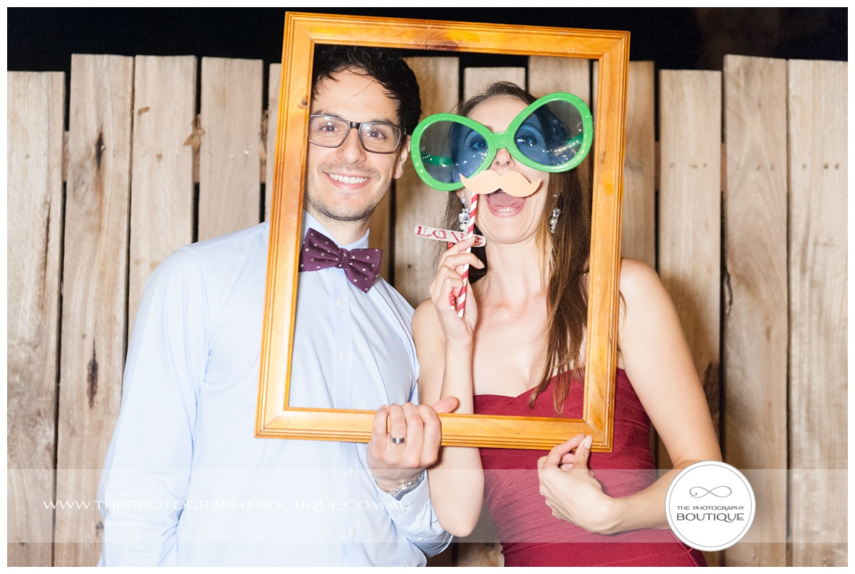 funny photobooth with props margaret river