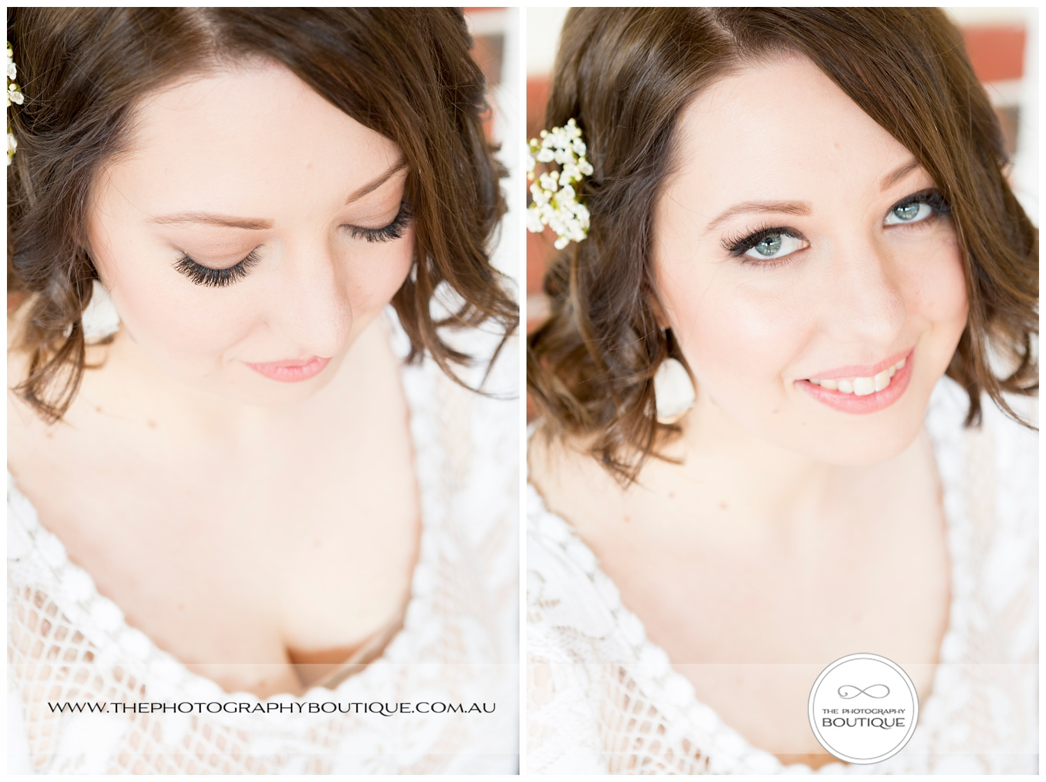 beautiful natural bridal portrait